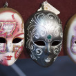 Masks in a Market — Stock Photo
