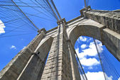 Brooklyn bridge architektura — Zdjęcie stockowe