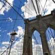 Brooklyn Bridge Architecture - Stock Photo