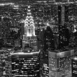Night View of New York City — Stock Photo
