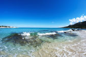 Crystal Waters of Corsica Coast, France — Stock Photo