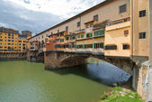 Ponte vecchio, florencie — Stock fotografie