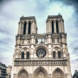 Notre Dame Cathedral in Paris — ストック写真 #4254842