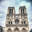 Foto Stock: Notre Dame Cathedral in Paris