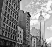 Buildings of New York City — Stock Photo