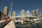 View of Toronto from the Pier — Stock Photo