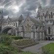 Christ Church Cathedral in Dublin — Stock Photo