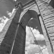 Brooklyn Bridge Architecture - Stok fotoğraf