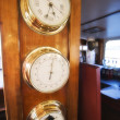 Marine Instruments on a Cruise Boat, Australia — Stock Photo