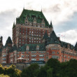 Majesty of Chateau de Frontenac, Quebec City — Stock Photo #4374924