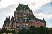 Majesty of Chateau de Frontenac, Quebec City — Stock Photo