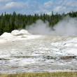 Stock Photo: Old Faithful, Yellowstone National Park