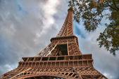 Majestat wieża eiffla — Zdjęcie stockowe