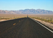 Extraterrestrial Highway, Nevada — Stock Photo
