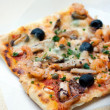 Pizza with seafood — Stock Photo #4412079