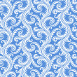 Stockvector : Frost on window seamless pattern