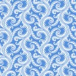 Cтоковый вектор: Frost on window seamless pattern