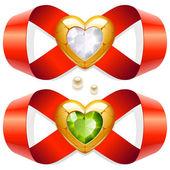 Nekonečná láska — Stock vektor