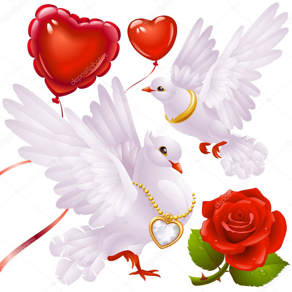 Valentine's Day set 3  Stock Vector #4209243