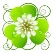 Vector de stock : Clover