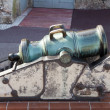 Stock Photo: Bronze Cannon