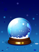 Vector Snowglobe — Stock Vector