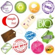 Promotional elements — Stock Vector