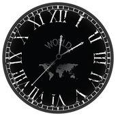 Weltzeituhr — Stockvektor