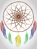 Dream catcher — Vector de stock