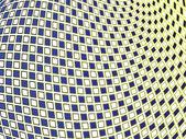 正方形波浪背景 — 图库矢量图片