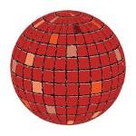 Ceramic tiles sphere — Stock Vector