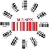 Business bar codes — Stock Vector