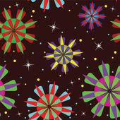 抽象的な幾何学的なシームレスな — ストックベクタ