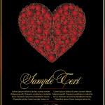 Valentine red for design — Stock Vector #4262207