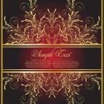 Red elegance background — Stock Vector