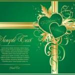 Valentine art background — Stock Vector #4269448