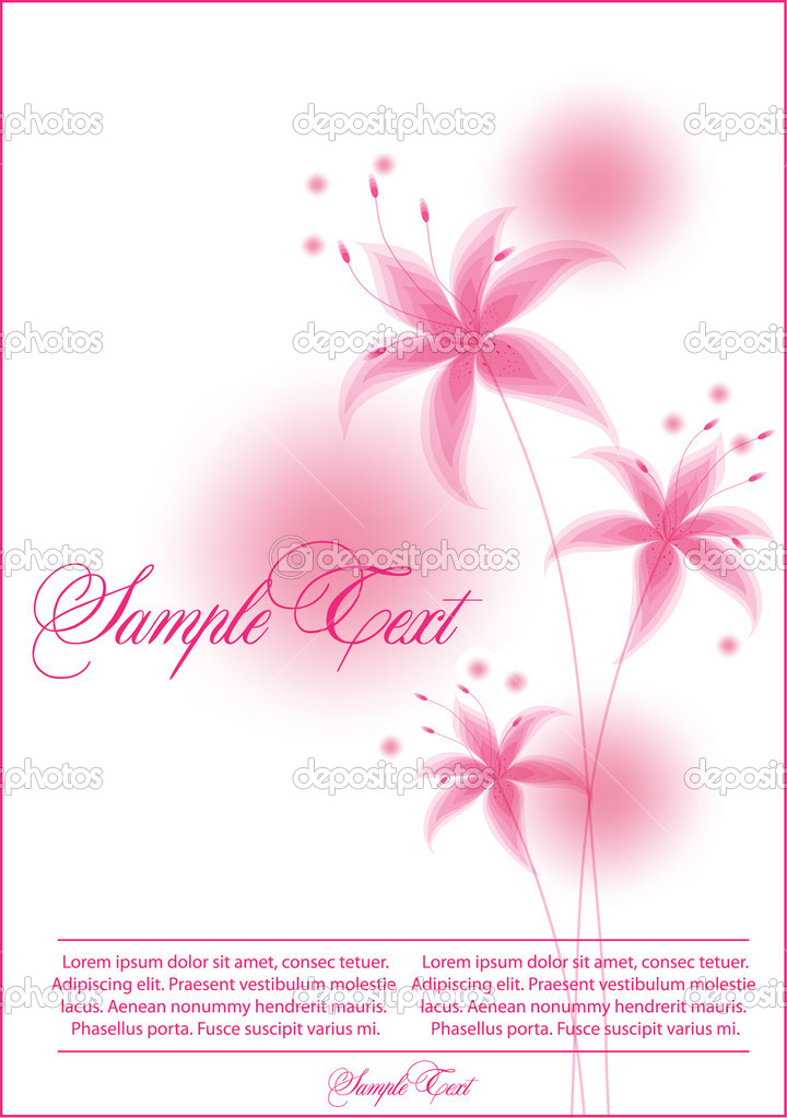 Beauty floral background — Stock Vector #4262236