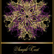 Abstract ornate pattern — Imagen vectorial