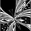 Beautiful butterfly for design - Stock Vector