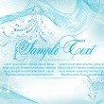 Elegance blue background — Stock Vector
