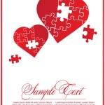 Valentine red for design — Stock Vector #4276013