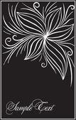 Kunst bloeien illustratie — Stockvector