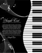 Tema di musica — Vettoriale Stock
