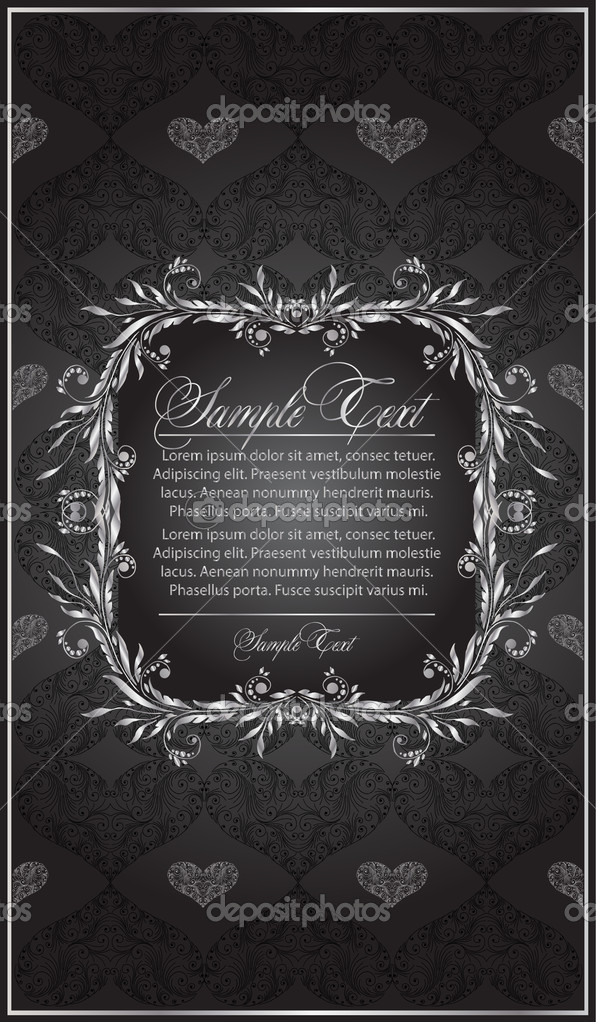 Vintage frame  Stock Vector #4274173