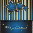 Background with Xmas star - Stok Vektör