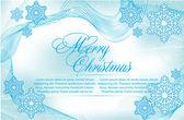 Decorative christmas background — Stock Vector
