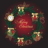 Christmas decoration — Stock Vector