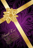 Holiday violet background — Stock Vector