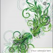 Art flourish  background - Grafika wektorowa