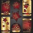 Christmas banners — Stock Vector #4486575